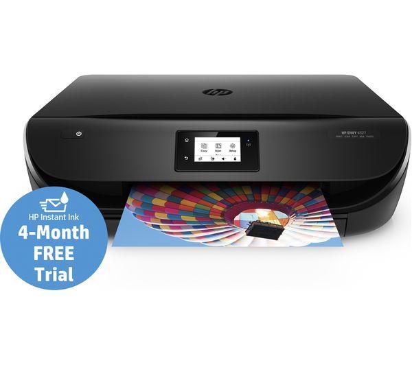 J6U61B#BHC - HP Envy 4527 All-in-One Wireless Inkjet Printer