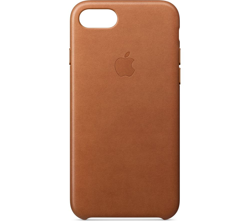 APPLE Leather iPhone 7 Case - Saddle Brown