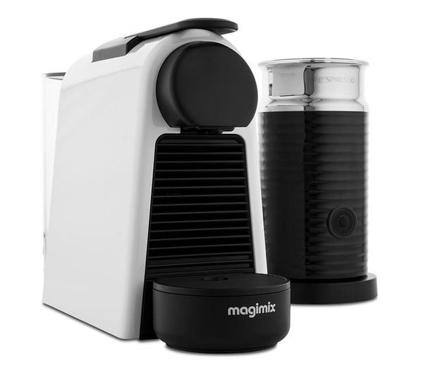 buy nespresso by magimix essenza mini coffee machine with. Black Bedroom Furniture Sets. Home Design Ideas