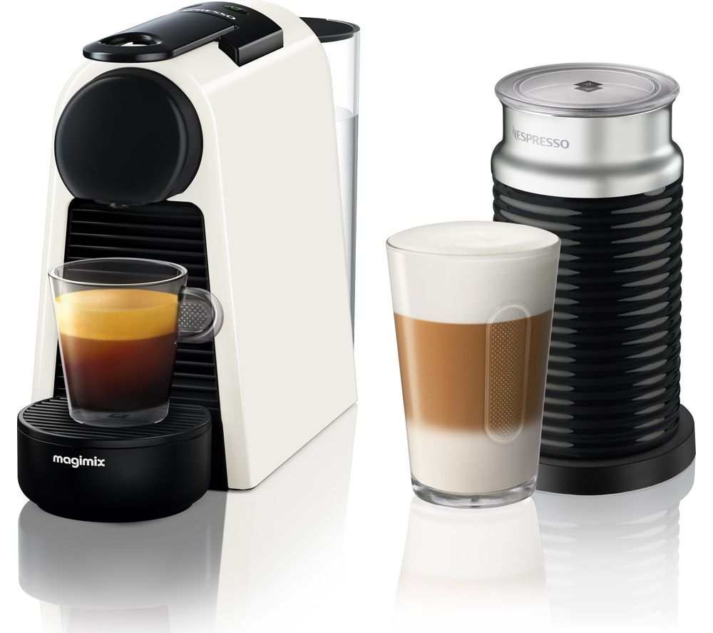 nespresso by magimix essenza mini coffee machine with. Black Bedroom Furniture Sets. Home Design Ideas