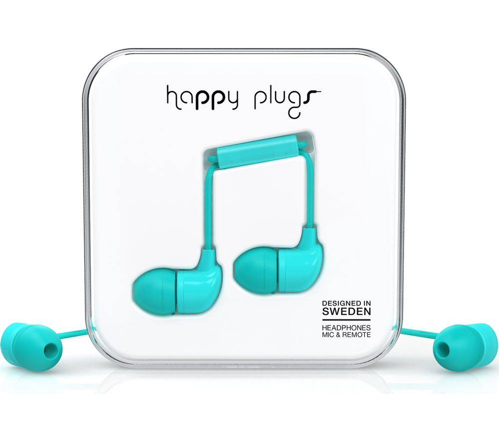 HAPPY PLUGS HP7722 Headphones - Turquoise