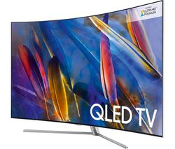 "SAMSUNG QE49Q7CAMT 49"" Smart 4K Ultra HD HDR Curved QLED TV"