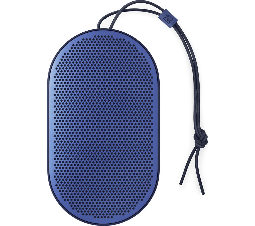 Image of B&O B&O BEOPLAY P2 Portable Bluetooth Wireless Speaker - Royal Blue, Blue