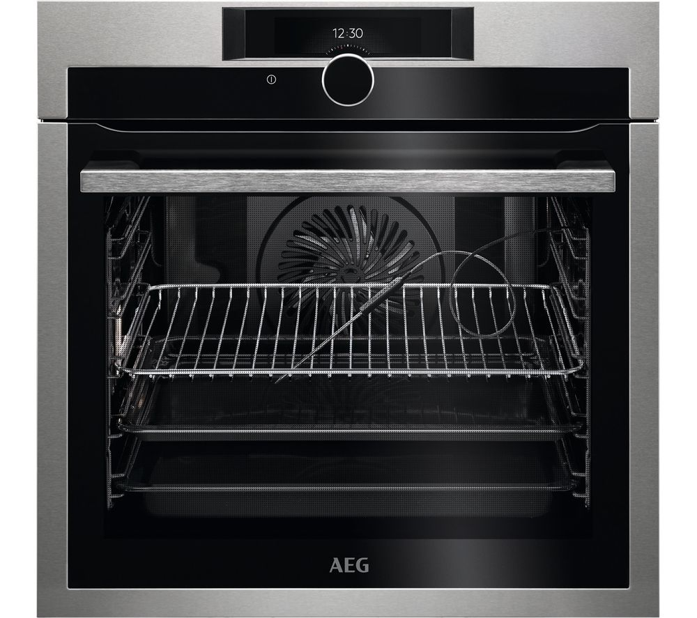 AEG SenseCook BPE842720M Electric Oven - Stainless Steel