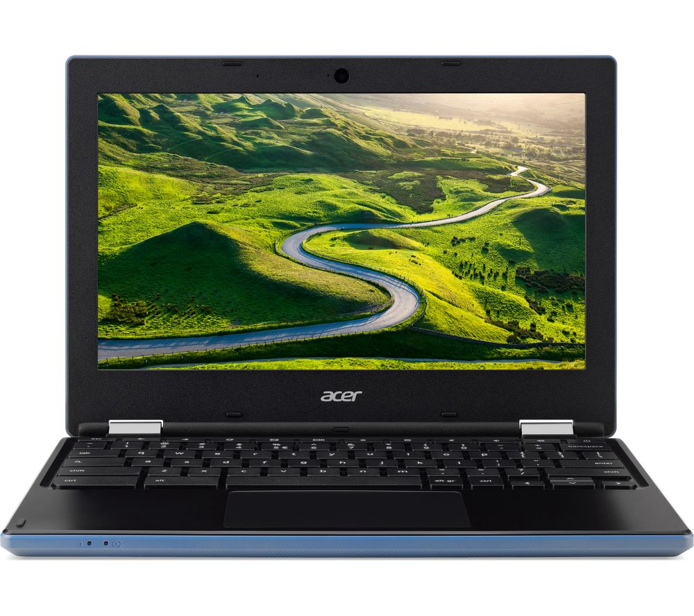 Compare retail prices of Acer CB3-131 11.6 Inch Chromebook - Blue to get the best deal online