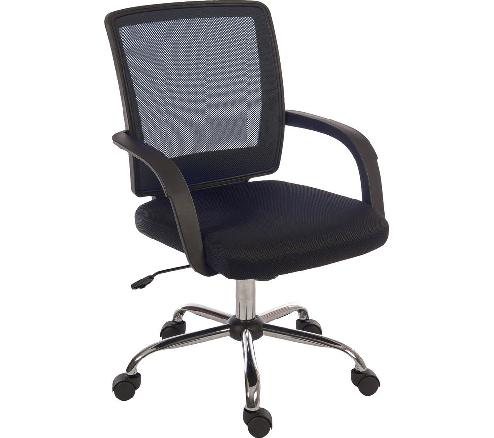 TEKNIK Star Mesh 6910BK Fabric Reclining Executive Chair - Black