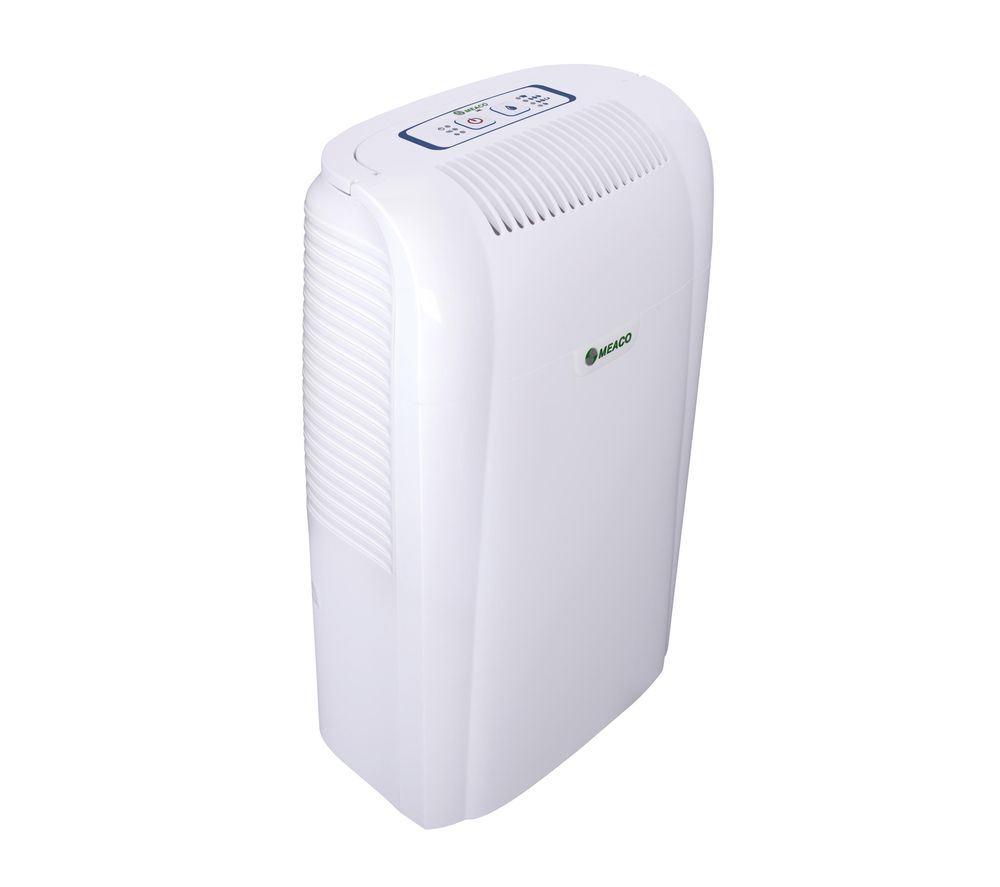 MEACO 10L Small Home Dehumidifier - 10 litre daily extraction