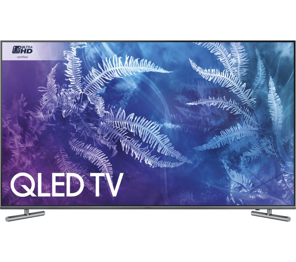 "Image of 55"" SAMSUNG QE55Q6FAMT Smart 4K Ultra HD HDR QLED TV"