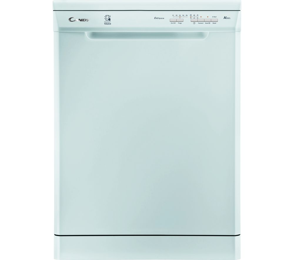 CANDY CDP 1LS57W Full-size NFC Dishwasher - White