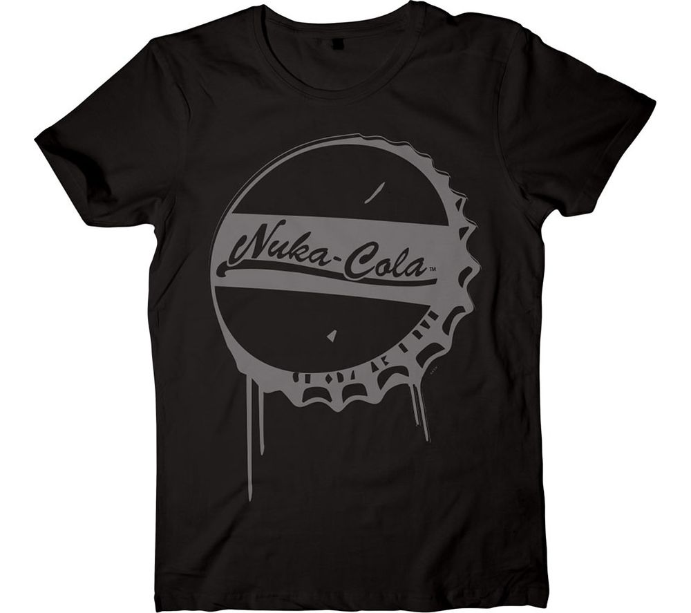 Compare prices for Fallout 4 Nuka-Cola T-Shirt - Medium Black