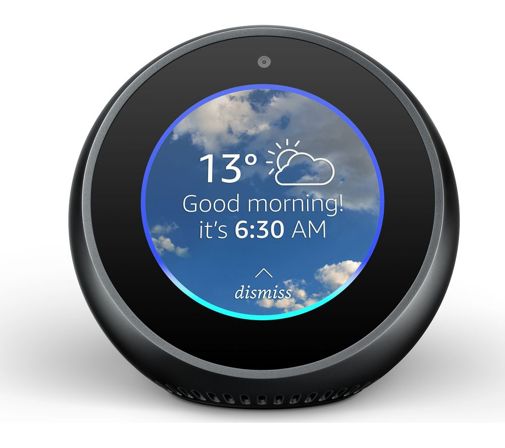 Compare retail prices of Amazon Echo Spot - Black to get the best deal online