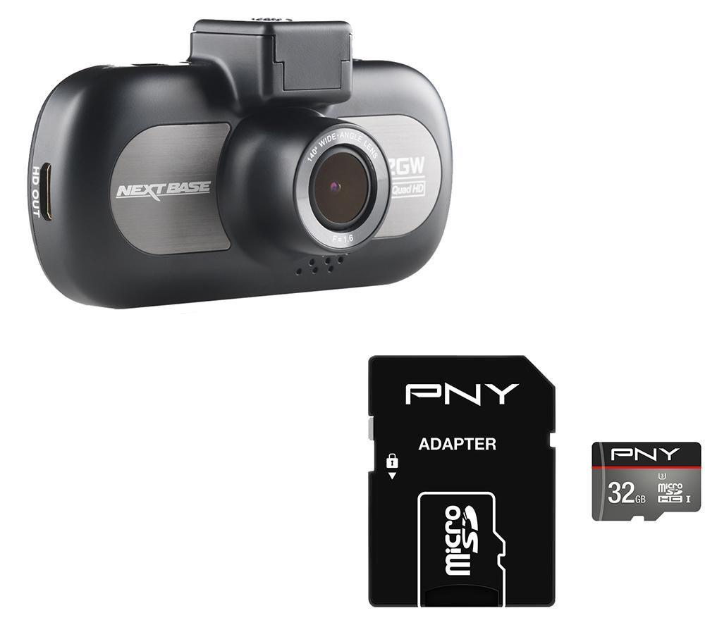 NEXTBASE iNCarCam 412GW Dash Cam & 32 GB microSDHC Memory Card Bundle specs