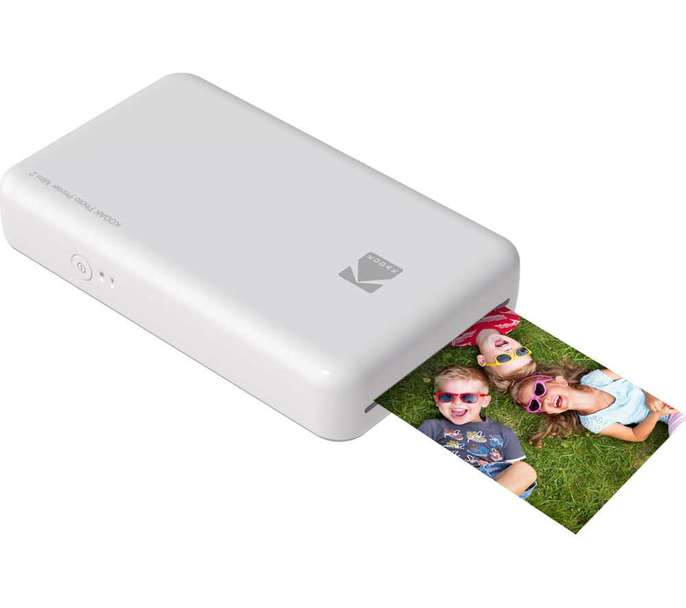 KODAK Mini 2 Instant Photo Printer - White