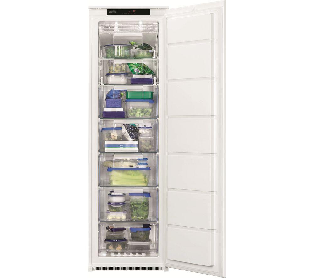 ZANUSSI ZBF22451SV Integrated Tall Freezer