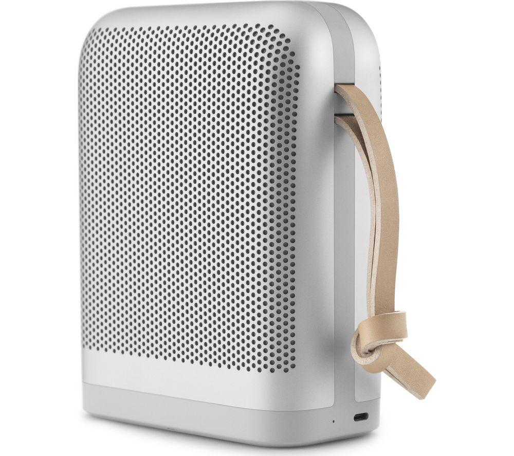 B&O B&O P6 Portable Bluetooth Speaker - Silver