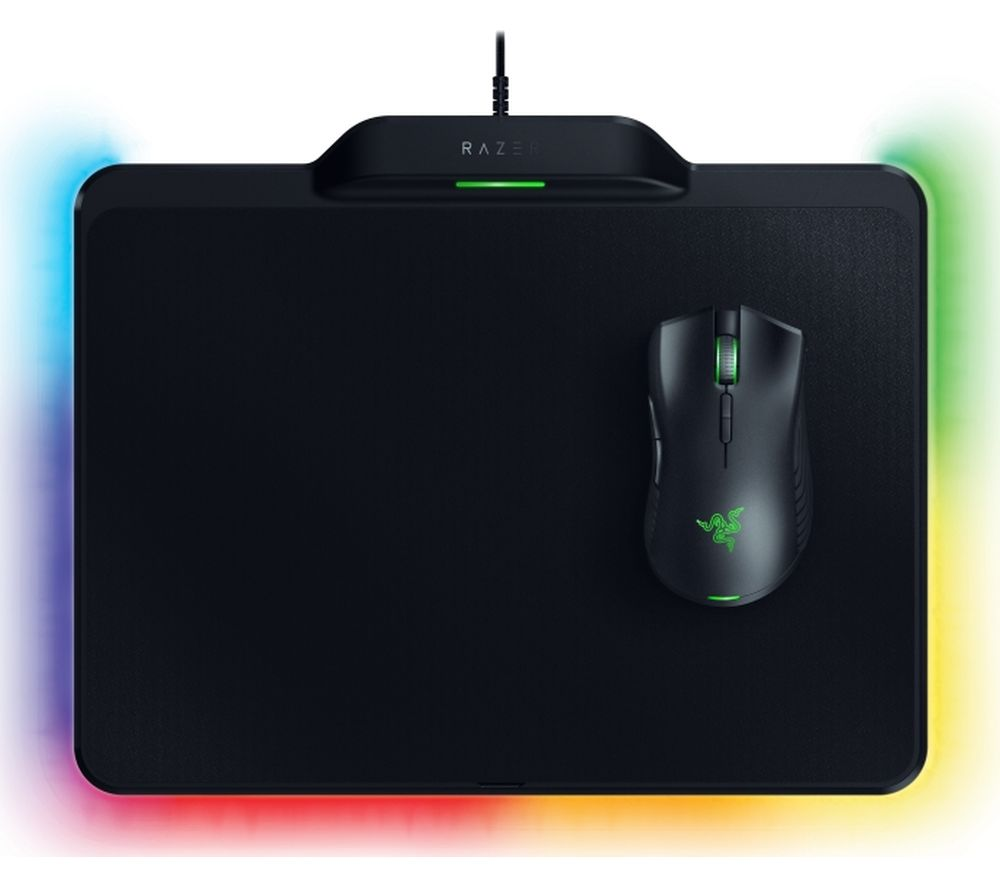 RAZER Mamba Wireless Optical Gaming Mouse & Firefly Hyperflux Mouse Mat