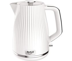 TEFAL Loft KO250140 Rapid Boil Traditional Kettle - Pure White