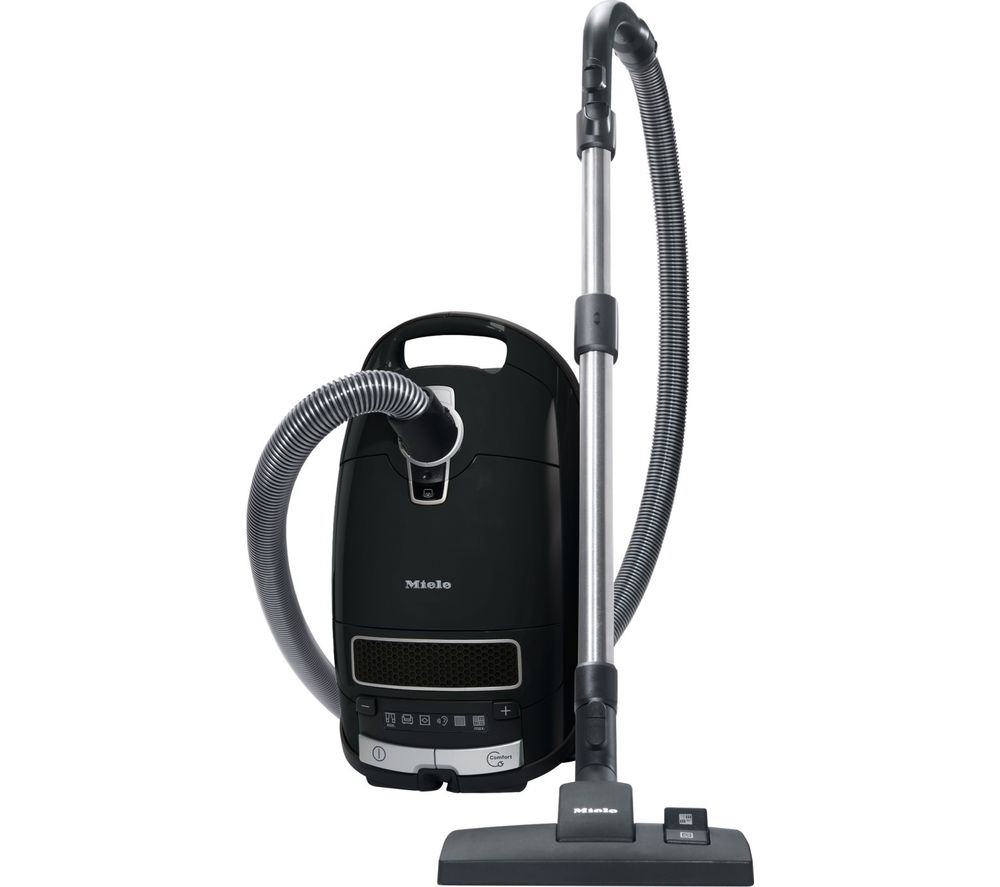 MIELE Complete C3 Pure Power Cylinder Vacuum Cleaner - Black, Black