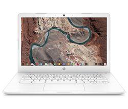 "HP 14-ca051sa 14"" Intel® Celeron™ Chromebook - 32 GB eMMC, White"