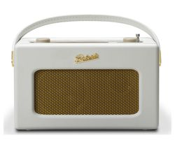 ROBERTS Revival iSTREAM3 Portable DAB+/FM Retro Smart Bluetooth Radio - White