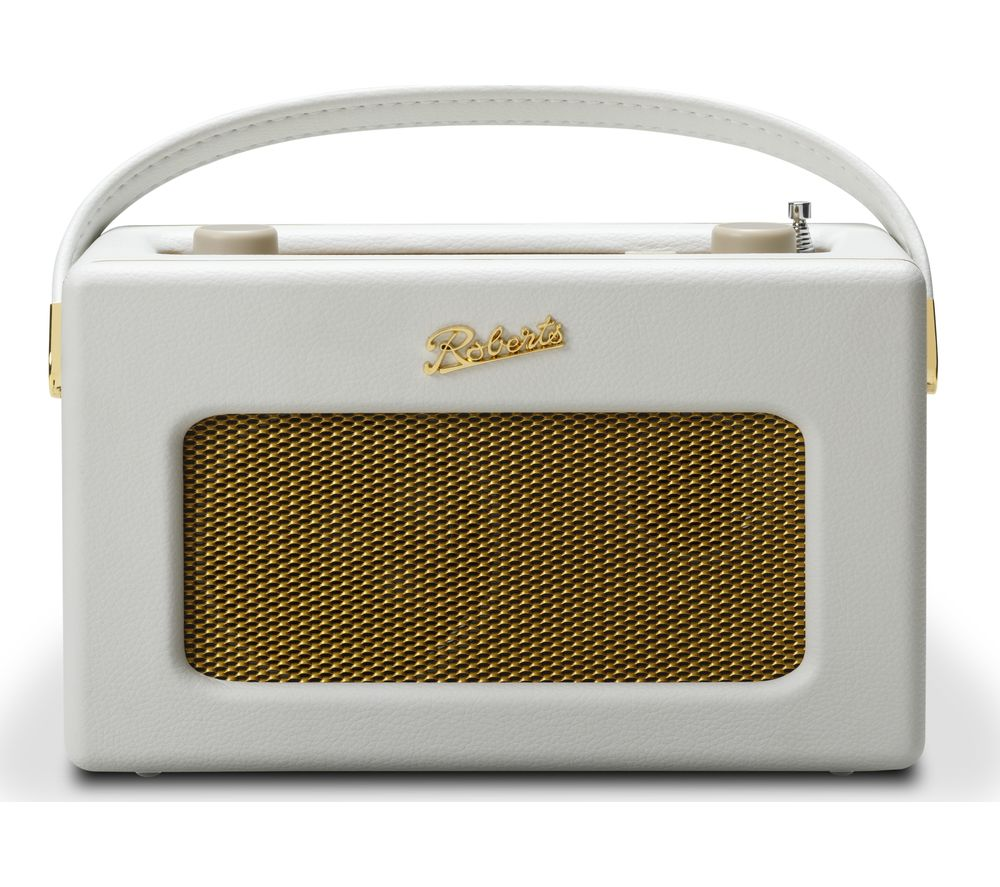 ROBERTS Revival iSTREAM3 Portable DAB+/FM Retro Smart Bluetooth Radio - White