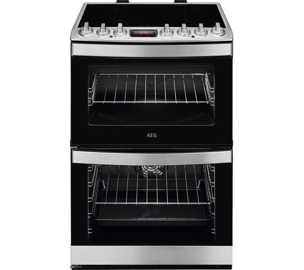 AEG CIB6740ACM 60 cm Electric Induction Cooker - Black & Stainless Steel