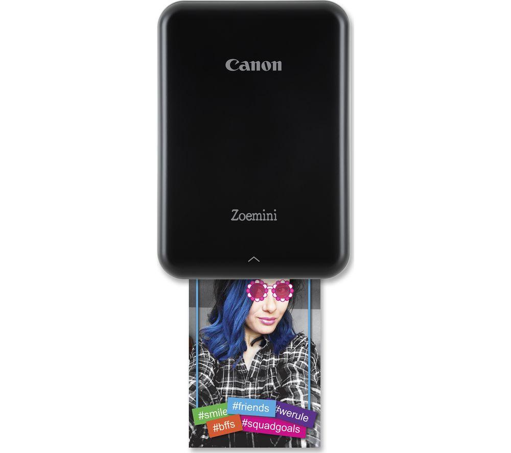CANON Zoemini Mobile Photo Printer - Black
