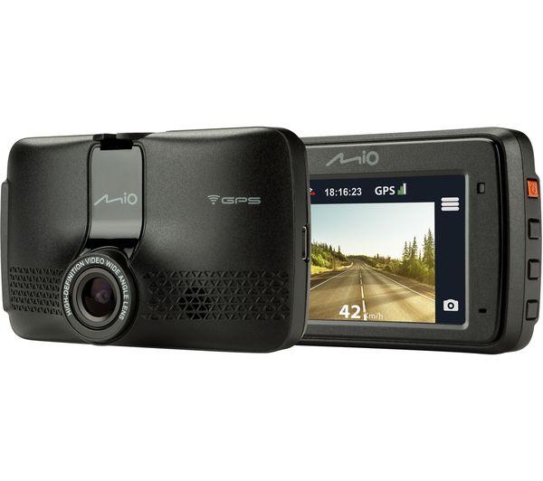 Image of MIO MiVue 733 Full HD Dash Cam - Black