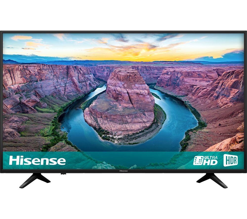 """HISENSE H58AE6100UK 58"""" Smart 4K Ultra HD HDR LED TV"""