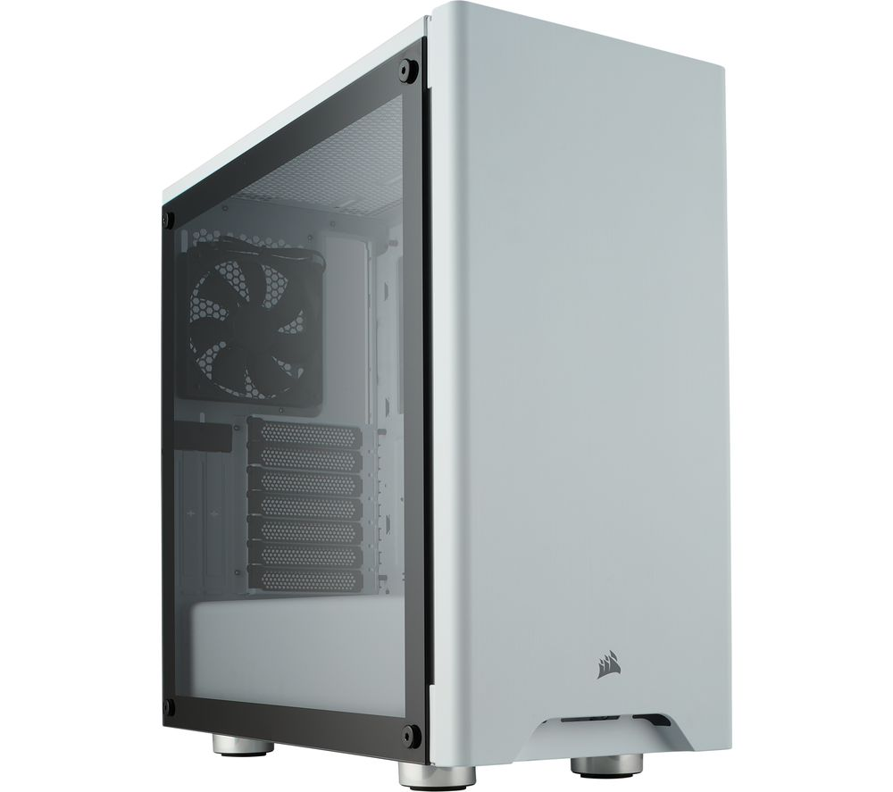 CORSAIR Carbide Series 275R Mid-Tower ATX PC Case - White