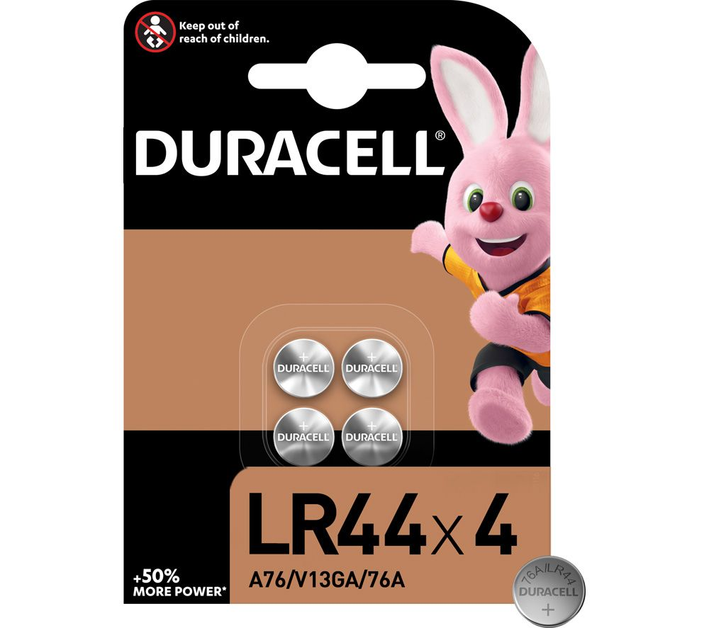 DURACELL LR44 Batteries - Pack of 4