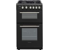 KENWOOD KTG506B19 50 cm Gas Cooker - Black