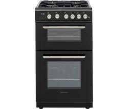 KTG506B19 50 cm Gas Cooker - Black