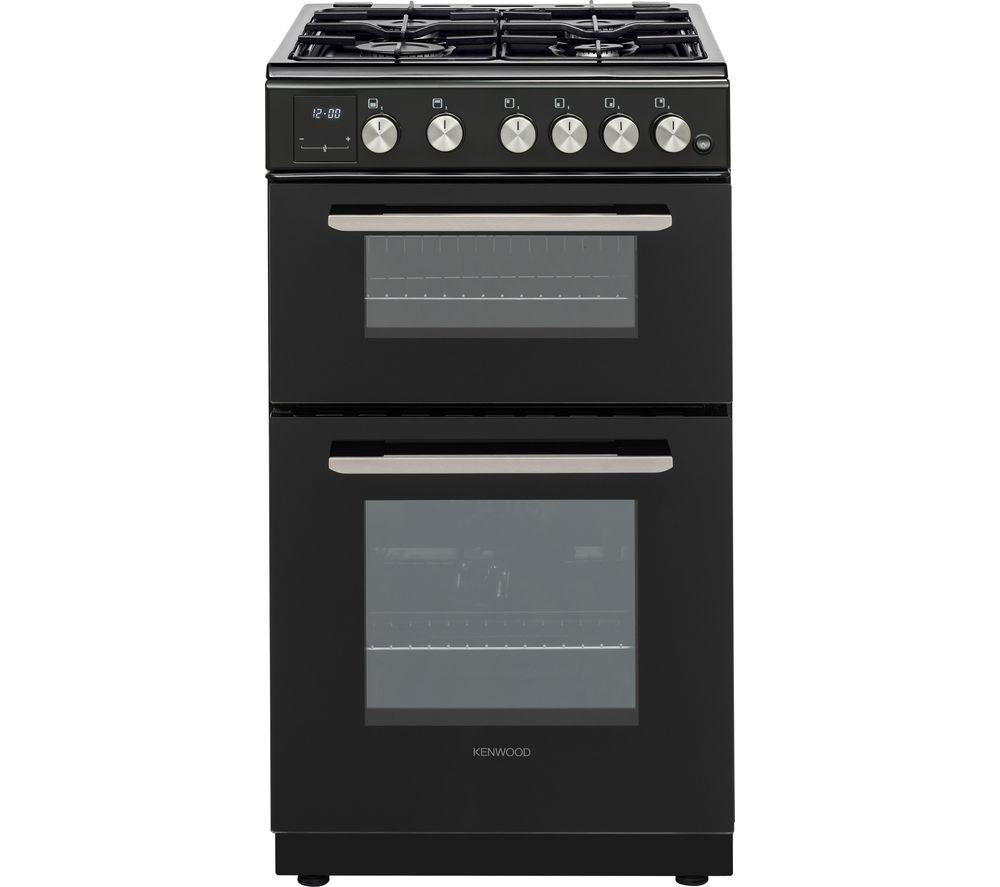 KENWOOD KTG506B19 50 cm Gas Cooker - Black