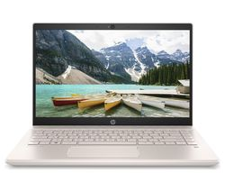 "HP Pavilion 14-ce2501sa 14"" Intel® Core™ i3 Laptop - 256 GB SSD, Rose Gold & White"
