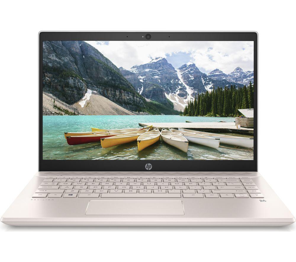 "HP Pavilion 14-ce2501sa 14"" Intel® Core™ i3 Laptop - 256 GB SSD, Rose Gold & White"