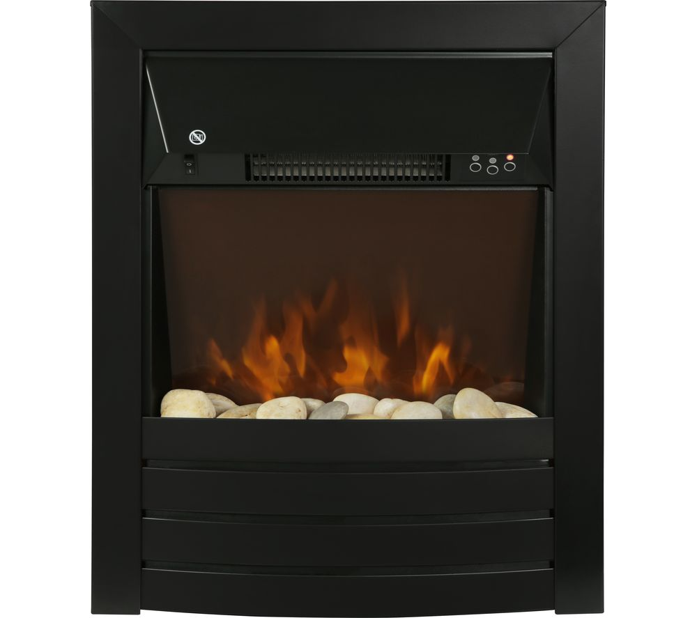 Buy Zanussi Zefist1003b Wall Mounted Electric Fireplace Black Free Delivery Currys