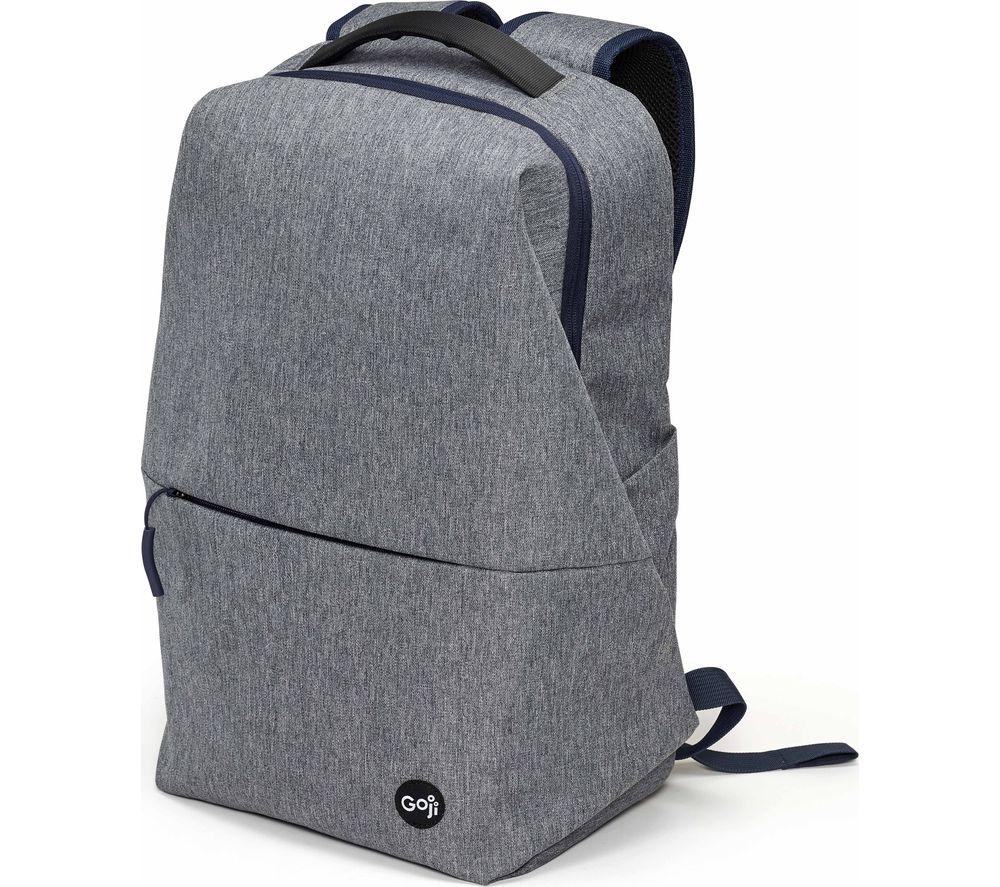 "Image of GOJI G15BPGY20 15.6"" Laptop Backpack - Grey, Grey"