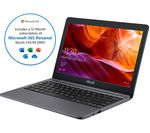 £229, ASUS E203MA 11.6inch Laptop - Intel® Celeron™, 64 GB eMMC, Grey, Social: Basic computing on the go, Windows 10, Intel® Celeron® N4000 Processor, RAM: 4GB / Storage: 64GB eMMC, Battery life:Up to 14 hours,
