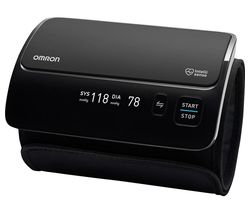 OMRON Evolv Smart Upper Arm Blood Pressure Monitor - Black