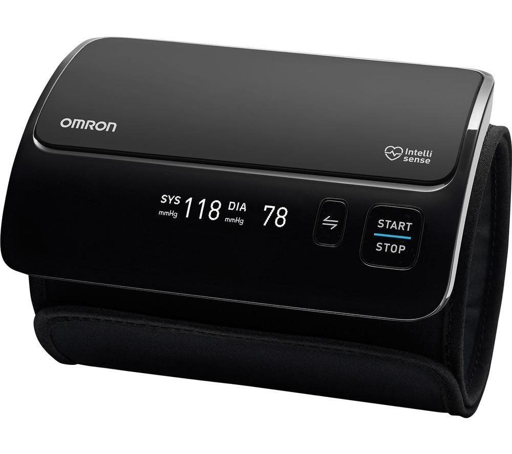 Image of OMRON Evolv Smart Upper Arm Blood Pressure Monitor - Black, Black