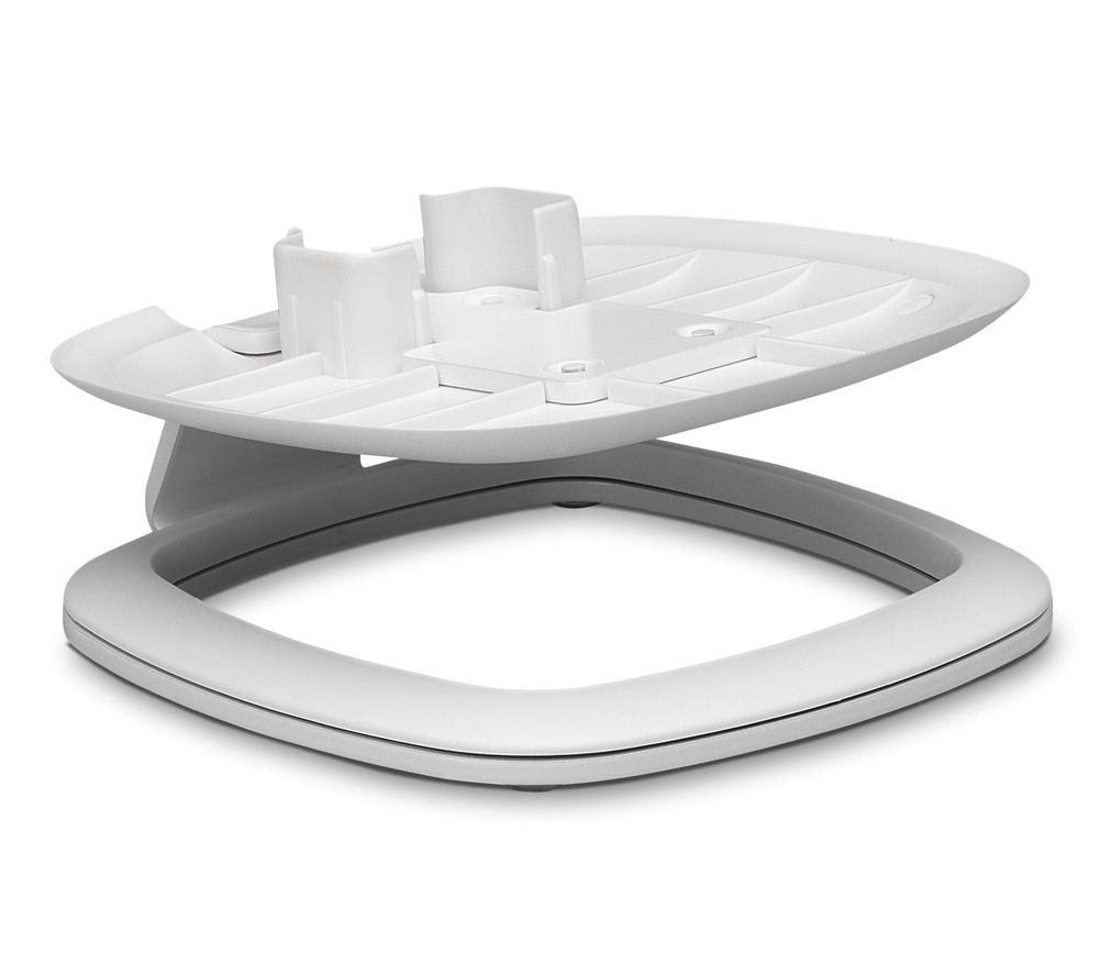 Image of FLEXSON FLXS1DS1011 Desk Stand for Sonos One & PLAY:1 - White, White