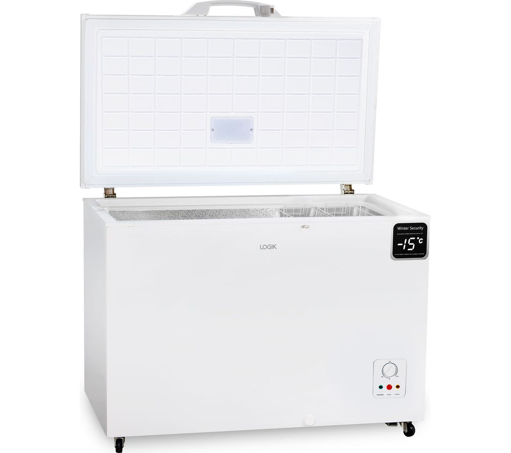 LOGIK L300CFW20 Chest Freezer - White, White