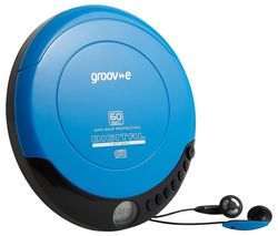 Retro GV-PS110-BE Personal CD Player - Blue