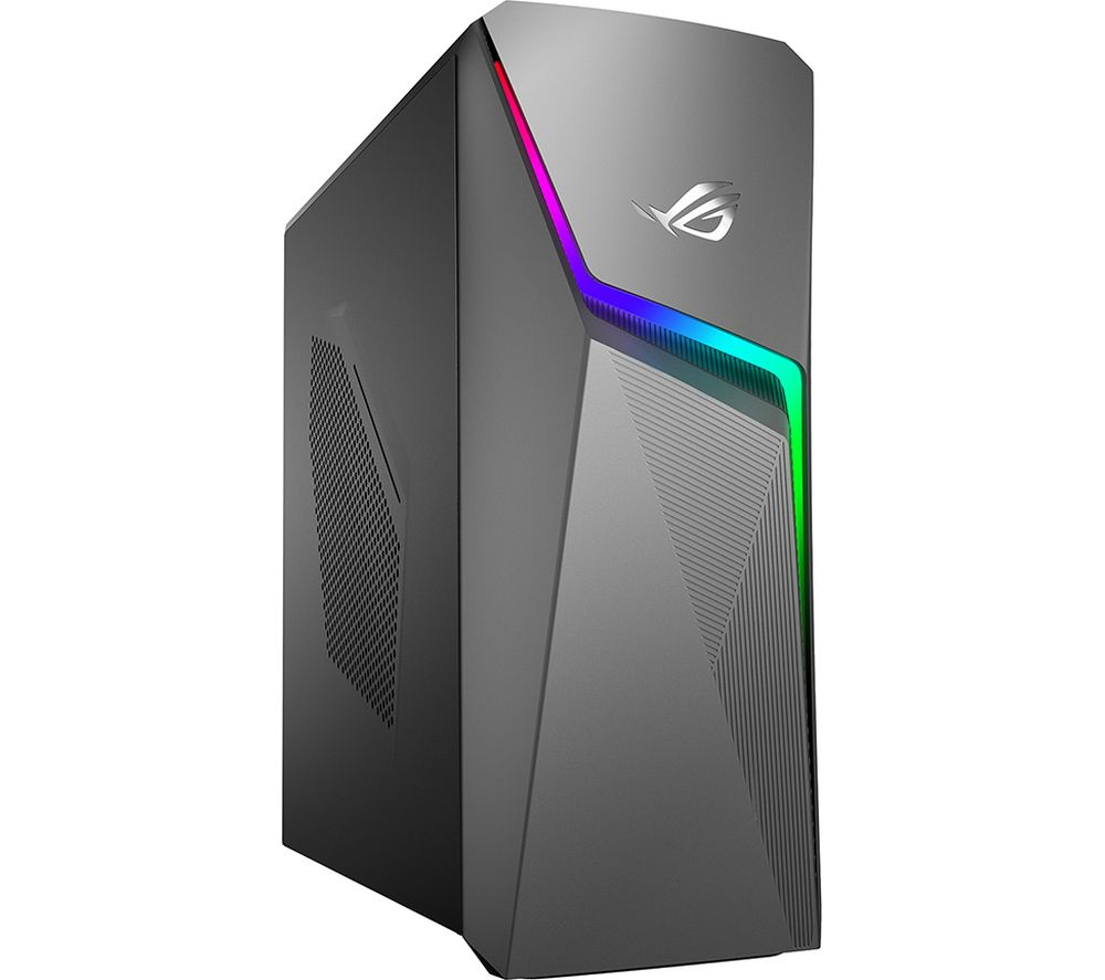ASUS ROG STRIX G10DH Gaming Desktop - AMD Ryzen 5, GTX 1650, 1TBH HDD & 256 GB SSD