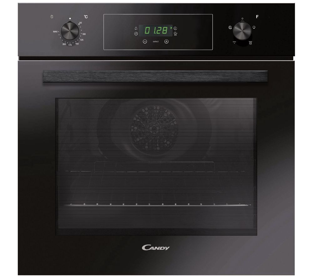 CANDY FCT405N Electric Oven - Black, Black