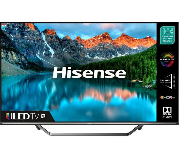 "Image of HISENSE 50U7QFTUK 50"" Smart 4K Ultra HD HDR QLED TV with Amazon Alexa"