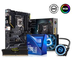 Intel® Core™ i9 Processor, TUF Gaming Motherboard, 16 GB RAM & FrostFlow Liquid Cooler Components Bundle