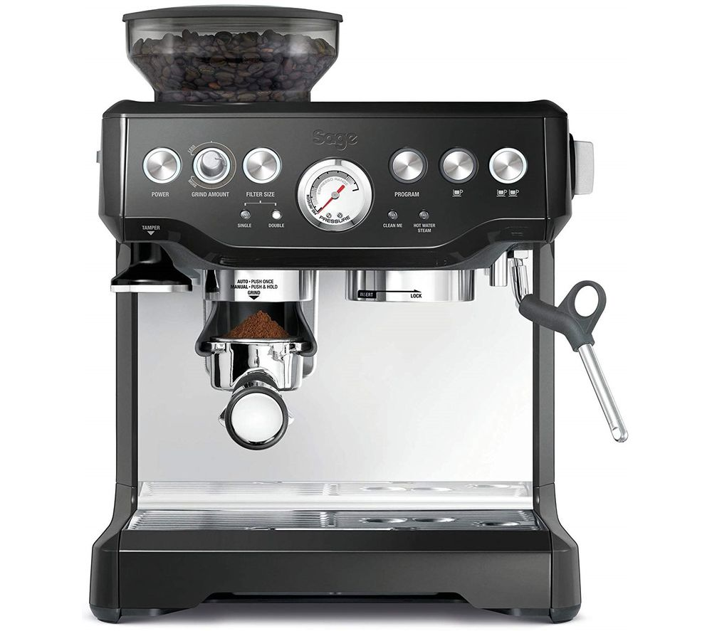 SAGE Barista Express Bean to Cup Coffee Machine - Black