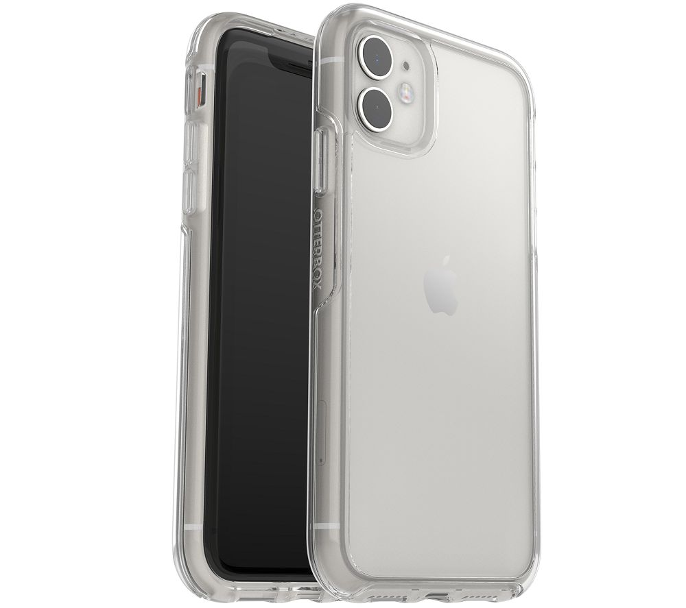 OTTERBOX Symmetry iPhone 11 Case & Alpha Glass Screen Protector Bundle